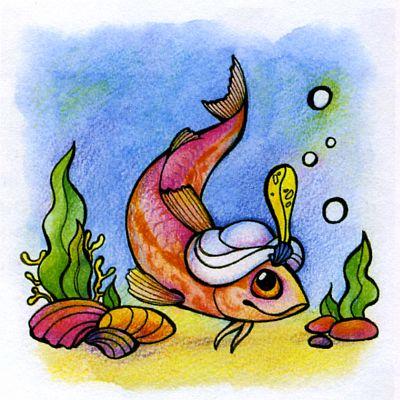 Про черноморскую рыбку — барабульку