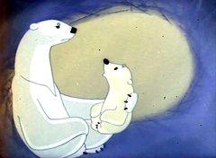 Умка из мультика про белых медведей