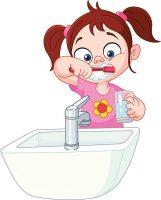 чистить зубы картинки для детей