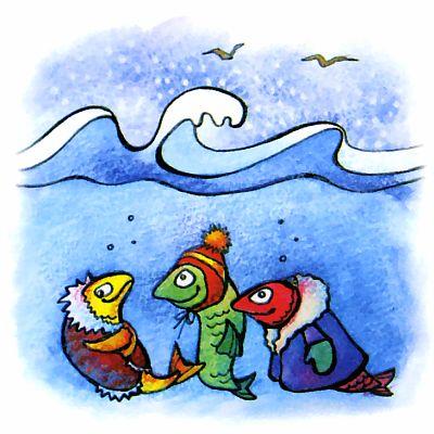 Где зимуют черноморские рыбы