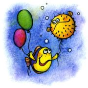 Как рыбы плавают