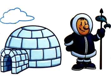 Правда, что жители на севере живут в хижинах из снега - иглу?