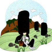 веселые картинки - каменные истуканы острова Пасхи