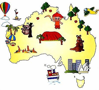 Так выглядит Австралия