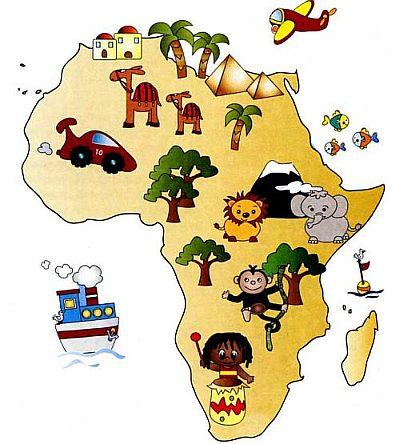 Так выглядит Африка