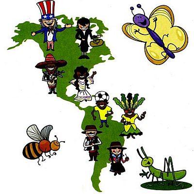 Как выглядит Африканский континент, Америка и Австралия