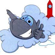 Забавные картинки - Как самолет пролетает сквозь облака, что такое воздушная яма