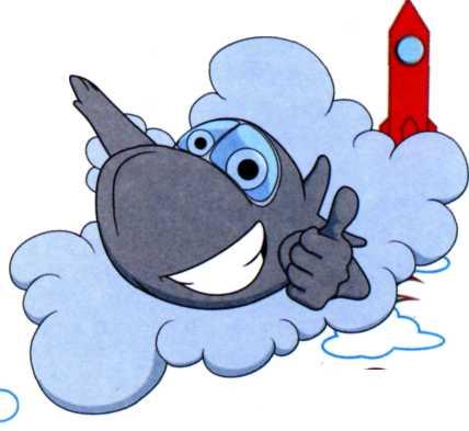 Как самолет пролетает сквозь облака?
