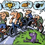 Про гоночный велосипед