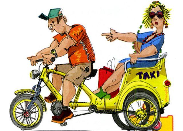 Смешные картинки - про велосипед