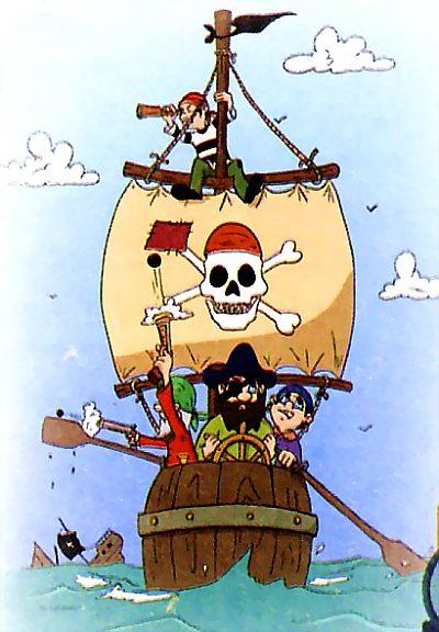 Как назывались корабли пиратов?