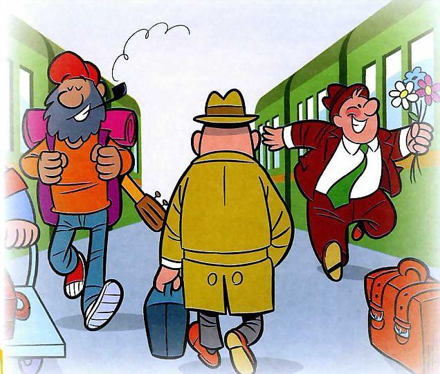 Смешные картинки про железную дорогу