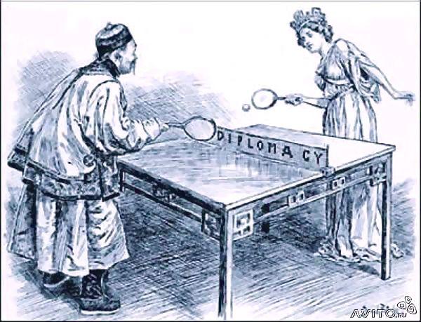 Про настольный теннис