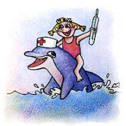 Кого и как лечат дельфины
