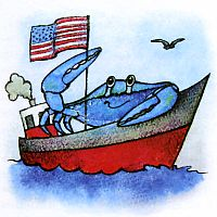 Откуда в Черном море голубые крабы