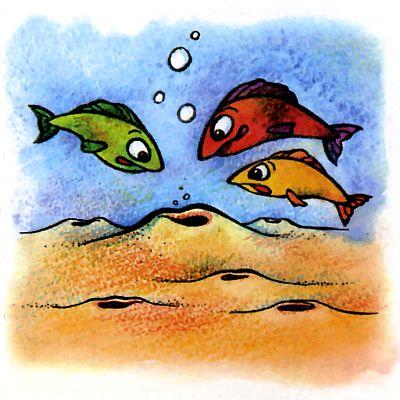 Кто роет норки на морском дне