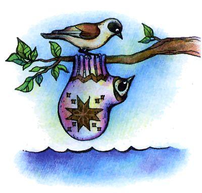 Как поют разные птицы, синичка - ремез.