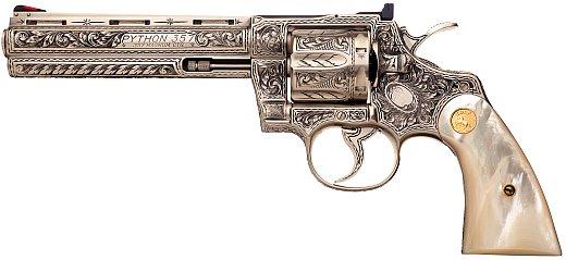 Автоматический револьвер кольт для старшего офицерского состава