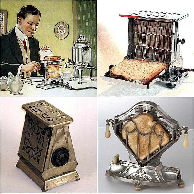 Так выглядит тостер начала 20 века - фото