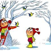 Правда, что зимой птицы могут погибнуть?
