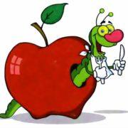 Смешные картинки - яблоки польза и вред
