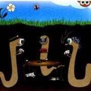 рисунок дождевого червя