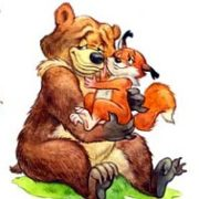 Правда что шерсть на лапах медведя помогает ему на льду!