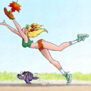 Смешные картинки - осень. Почему опадают листья