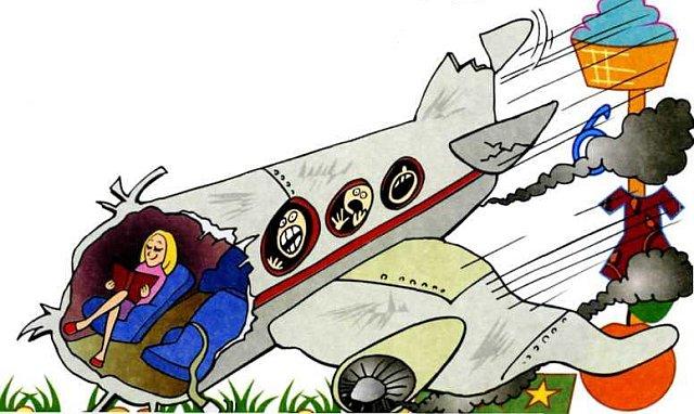 Смешные картинки - самолет