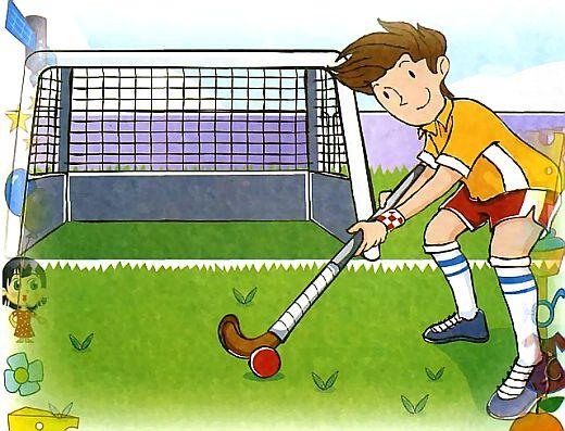 Правда, что в хоккей играют не только на льду, но и на траве?