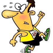 Правда, что марафонцы бегут 42 километра
