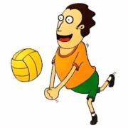 Смешные картинки - кто и когда придумал волейбол
