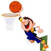 Смешные картинки - как играют в баскетбол