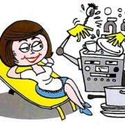 Когда появились первые посудомоечные машины?