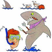 Смешные картинки - про плавание
