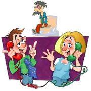 Изобретение телефона - комиксы
