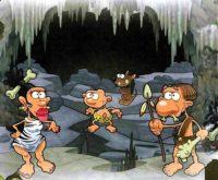 пещерный человек - комикс